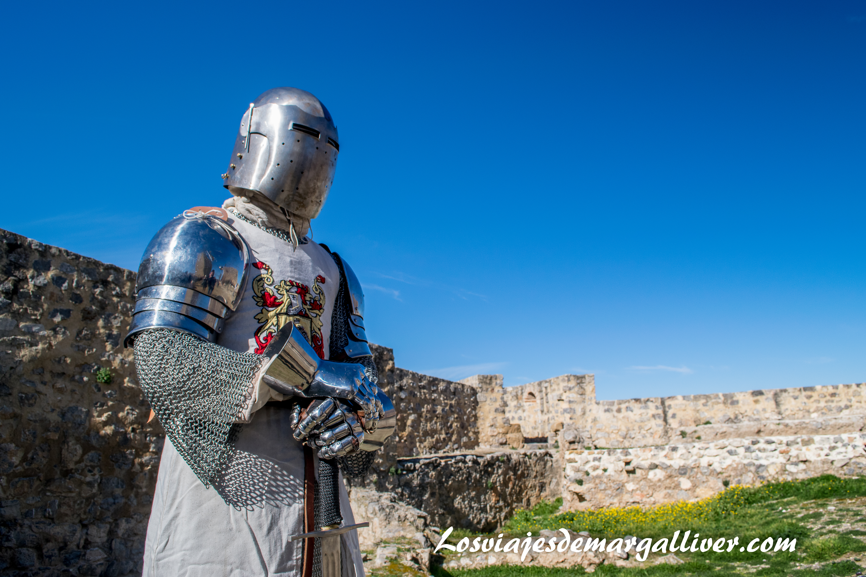 Caballero calatravo de Alcaudete despues de un combate, pueblos de Jaén